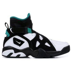 🆕 Nike Air Unlimited David Robinson Black/Emerald